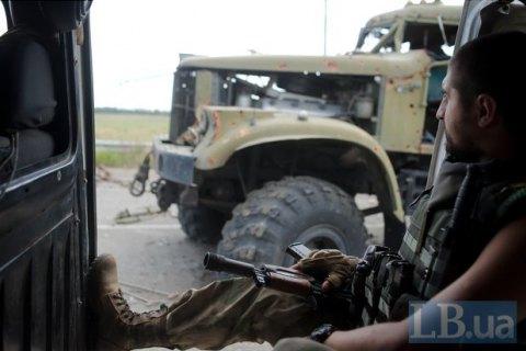Кількість обстрілів у зоні АТО в неділю зменшилася