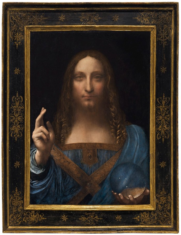 "Леонардо да Винчи, ""Спаситель мира"""