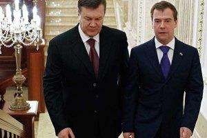 Янукович наведается в Сочи к Медведеву