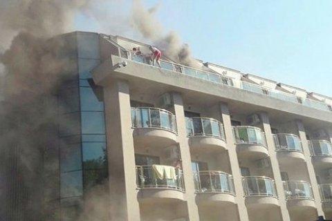 У Туреччині в п'ятизірковому готелі сталася пожежа, постраждали 14 туристів