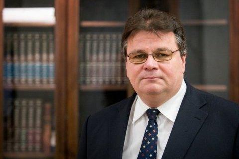 Глава литовського МЗС закликав продовжити політику санкцій проти Росії