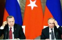 Путин и Эрдоган провели телефонный разговор после гибели турецких военных в Идлибе