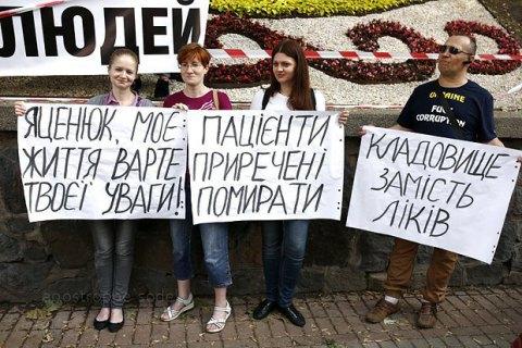 Лекарства для больных ВИЧ/СПИД до сих пор не поставлены в Украину