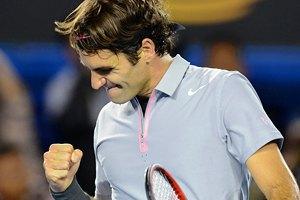 Федерер удев'яте виграв усі матчі групового турніру на Підсумковому