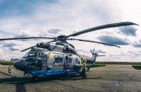 Нацгвардия получила третий французский вертолет Airbus Н-225