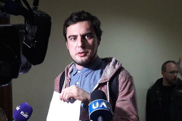 Овчаренко после заседания суда