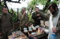 Бойовики 13 разів обстріляли українських військових на Донбасі в суботу, є поранений