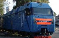 В Ясиноватой на ходу взорвался электровоз, семь вагонов сошли с рельс