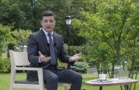 Зеленский признал надуманным языковой вопрос в Украине