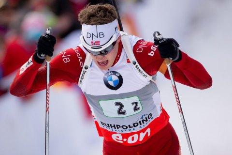 Пайффер вклинився в братську дуель в спринті на етапі Кубка світу з біатлону в Контіолахті