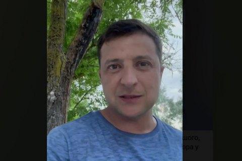 """Зеленський знову звернувся до збірної України: """"Хлопці, ще дуже рано додому"""""""