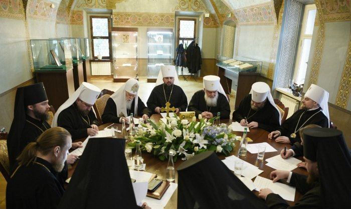 Заседание Синода ПЦУ, 11 февраля 2019