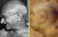 На Марсе нашли лик Махатмы Ганди