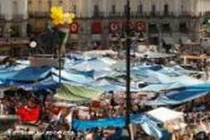 Демонстранты свернули палаточный городок в центре Мадрида после месяца протестов