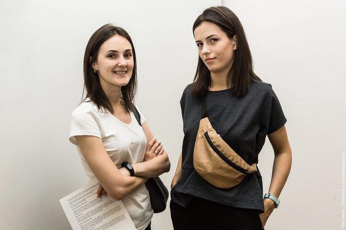 Ирина Поликарчук и Вита Попова