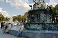 В центре Харькова появился обещанный Кернесом фонтан с обезьянами