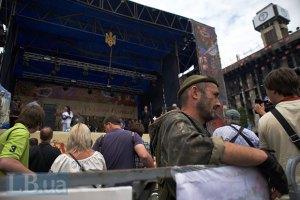 На Майдані встановлюють нову сцену