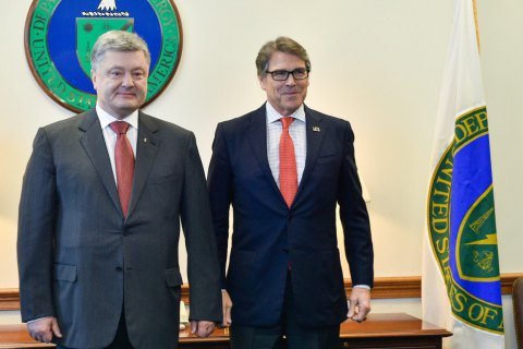 Порошенко: Україна закупить мінімум 2 млн тонн вугілля вСША