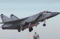 У Нижньогородській області РФ упав винищувач МіГ-31