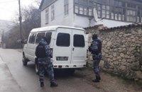В оккупированном Бахчисарае ФСБ задержала пятерых крымских татар (обновлено)