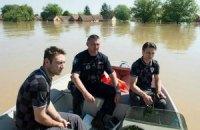 Ковач і Оліч відвідали затоплені райони Хорватії