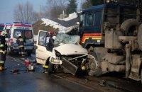 Бус с украинцами разбился в Польше, есть погибшие
