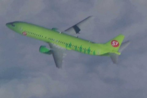 Российский самолет совершил перелет над Украиной