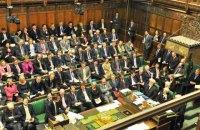 Британский парламент поддержал проведение досрочных выборов
