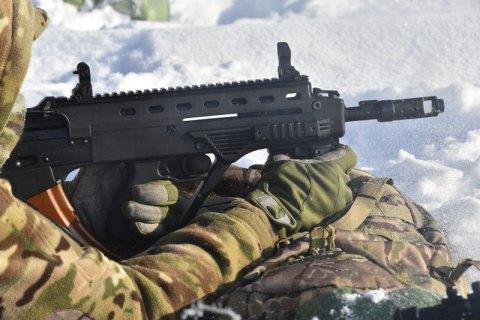 Окупанти двічі обстріляли позиції ЗСУ на Донбасі