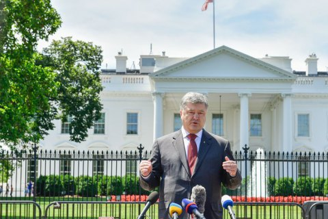 Порошенко очікує вирішення питання щодо надання США оборонної зброї до кінця жовтня