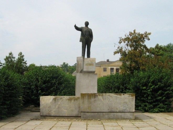 Пам'ятник Леніну в с.Виноградівка