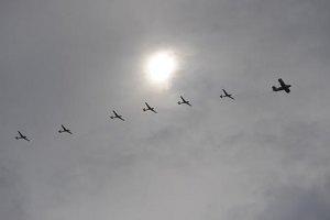 Українська авіація знищила дві бази бойовиків на Донбасі