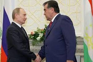 Путін подарував президентові Таджикистану снайперську гвинтівку
