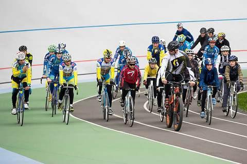 На Киевском велотреке открыли детскую спортивную школу