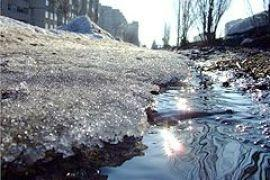 """Украину """"затопит"""" талым снегом"""