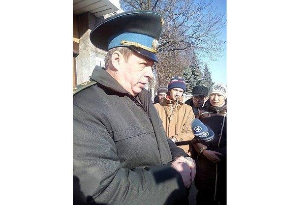 Полковник Голоднюк, Генштаб