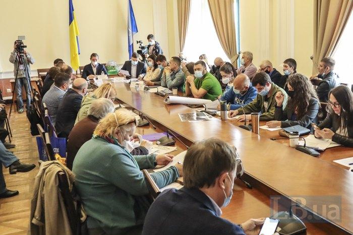 Під час засідання постійної комісії з питань екологічної політики, 1 червня 2021