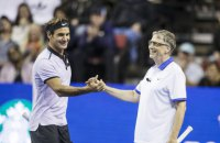 Гейтс в паре с Федерером на теннисном корте заработали 2,5 млн долларов для африканских детей