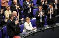 Меркель учетверте обрана канцлером Німеччини