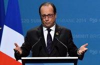 Олланд відмовився від поїздки в Москву на 9 травня