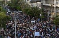 Десятки тысяч венгров снова вышли на протест против Орбана