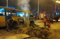 В Киеве из-за прорыва тепломагистрали возле Ocean Plaza госпитализировали семерых пострадавших