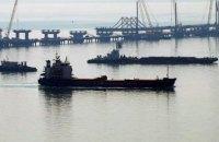 У Керченского пролива в ожидании прохода скопилось более 140 кораблей