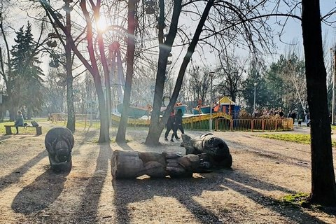 У Запоріжжі померла дівчинка, на яку впала 200-кілограмова паркова фігура