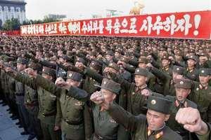 В Северной Корее введено военное положение