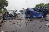 На Броварском проспекте в Киеве трое человек погибли в ДТП