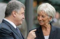 Голова МВФ задоволена перебігом переговорів з Україною про новий транш