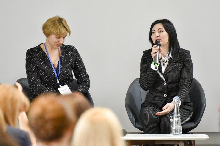 Марина Мочикіна (справа) та Тетяна Чумак