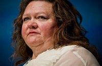 Самая богатая женщина Австралии стала совладельцем медиахолдинга
