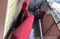 На балконе жилого дома в Харькове 23-летний мужчина погиб, подорвавшись на гранате